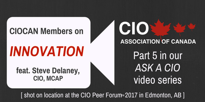 CIOCAN Members on Innovation