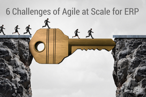 6 Challenges of Agile at Scale for ERP